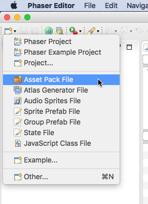 Assets Management — Phaser Editor Help
